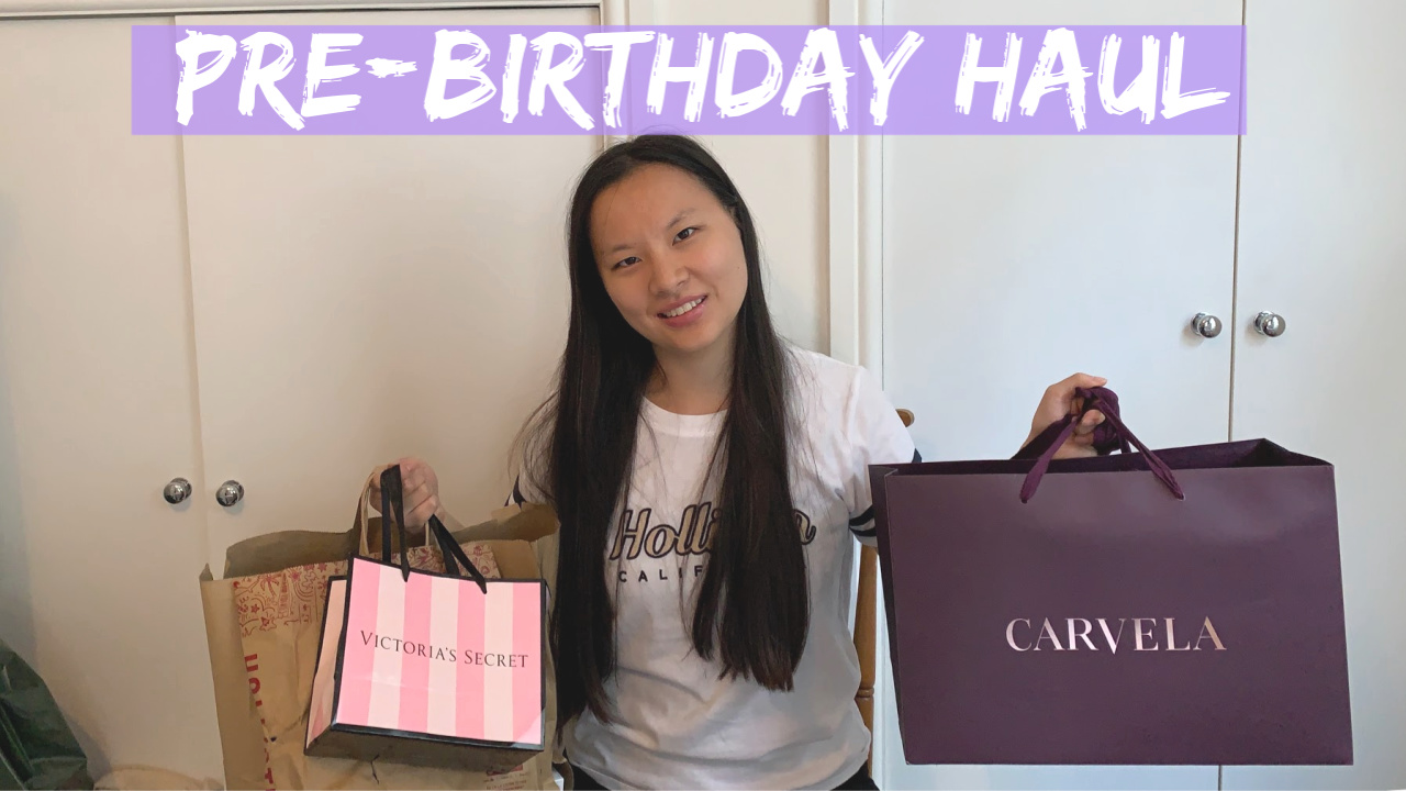 Video | 🎈🛍Pre-23rd Birthday Haul 2019 (Carvela, Victoria Secret, Hollister…)