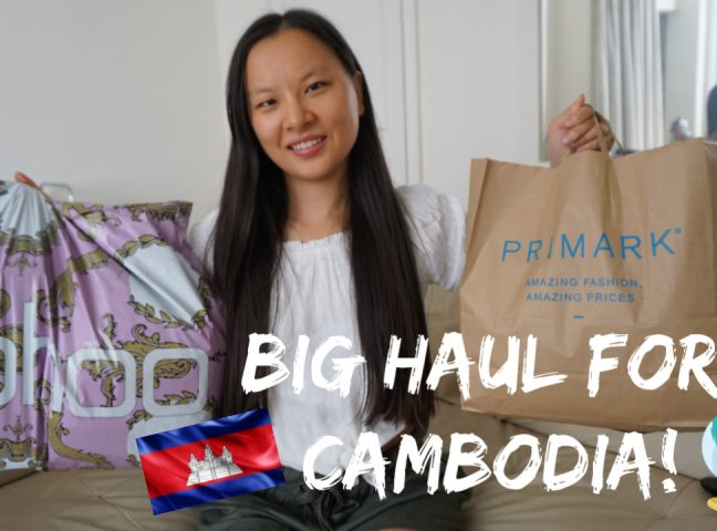 Video | BIG Boohoo & Primark Haul for Cambodia!